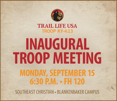 Preparing For Our First Troop Meeting 2014 Trail Lifetrail Life